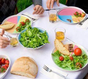 Тарелки контролируют потребление калорий