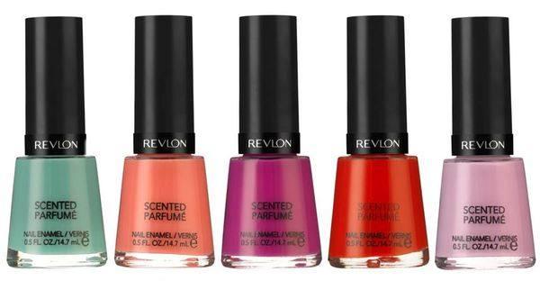 Коллекция ароматных лаков для ногтей Revlon