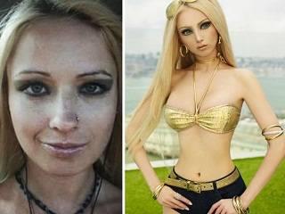 Живая Барби Валерия Лукьянова не ест и не пьет