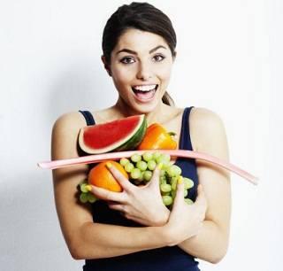 Спортивное питание и фрукты