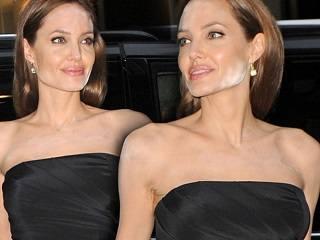 Анджелина Джоли допустила ошибку в макияже!